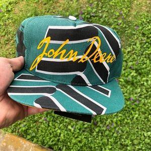 Vintage 90's John Deere Hat Snapback Deadstock